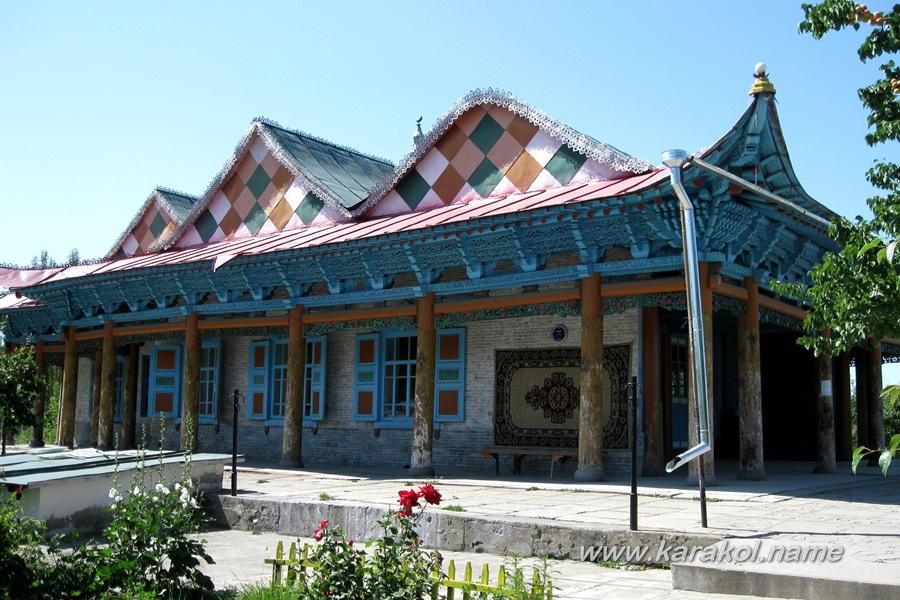Дунганская Мечеть в городе Каракол